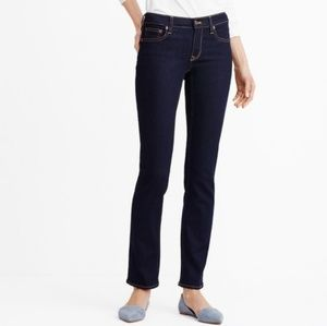 J. CREW  STRAIGHT AND NARROW BLUE JEANS
